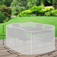 Schutzhülle grau für Tischgruppe