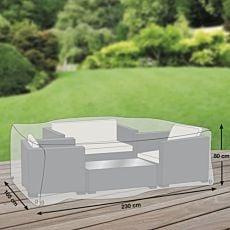 Schutzhülle grau für Sitzgruppe
