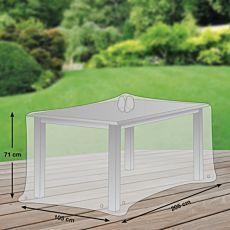 Schutzhülle grau für Tisch