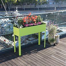 Balkon Hochbeet 80x100x30 cm