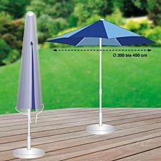Schutzhülle grau für Sonnenschirm Ø 3.5-4.5 m