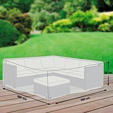 Schutzhülle für Garten-Sitzgruppe, grau