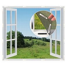 Fenster-Moskitonetz mit Magneten