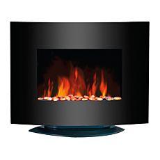 Ohmex Elektroheizung mit Flammen-Effekt und regulierbarer Thermostat