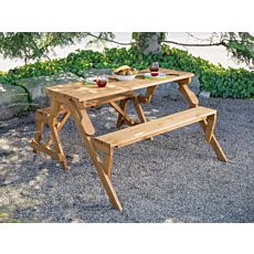 Garniture banc/table en un