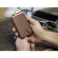 Card Guard porte-cartes pour hommes en similicuir