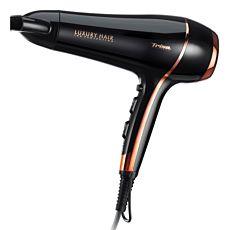 Séche-cheveux Trisa Luxury Hair, noir-cuivre