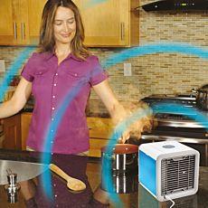 Refroidisseur par évaporation Arctic Air avec adaptateur au secteur et câble USB
