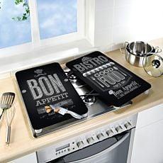 Glas-Abdeckplatten Bon Appetit