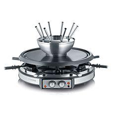 Appareil à raclette et fondue Severin 2-en-1