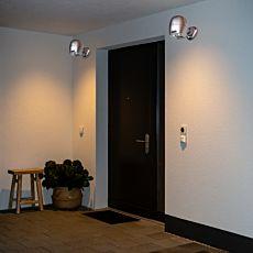 2er-Set Aussenbeleuchtung mit Bewegungssensor
