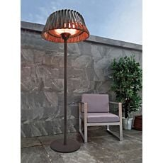 Chauffage de terrasse genre lampadaire, 210 cm
