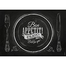 Papiertischset Bon Appetit
