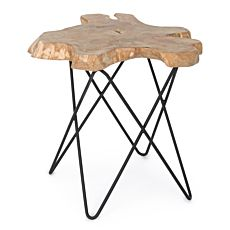 Table d'appoint Savanna en bois massif