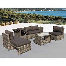 Garniture Multi-Lounge Santana, 6 éléments