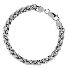 Bracelet en acier inox, argent