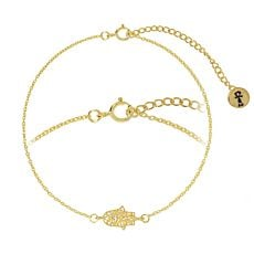 Bracelet en argent 925 Main de Fatima