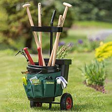 Chariot de jardin sur roues
