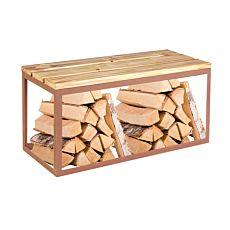 Sitzbank Wood Pinie 100x40 cm