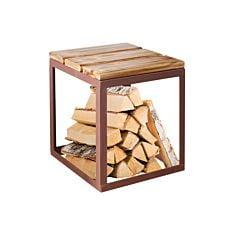 Hocker Wood Pinie 40x40 cm