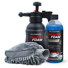 Mousse nettoyante active Platinum Amazing Foam