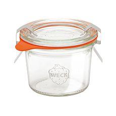 Weck-Glas 8er Set, 80 ml