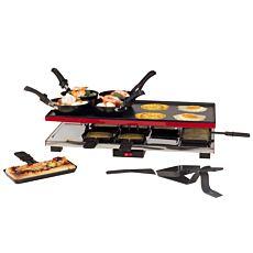Four à raclette Deluxe 4-en-1, 26 éléments