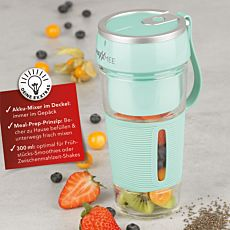 Gourmetmaxx Smoothie-Maker Mix & Go