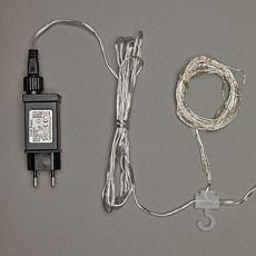 Rideau lumineux LED-Microlight Cheveux d'ange pour l'extérieur