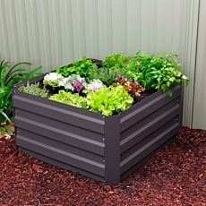 Gartenbeet 90x90x45 cm