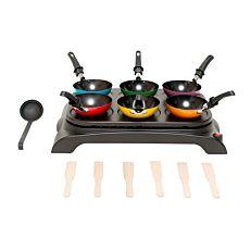 Ohmex Party wok et crêpes