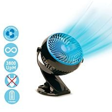 Ventilateur de table à accu Livington Go Fan