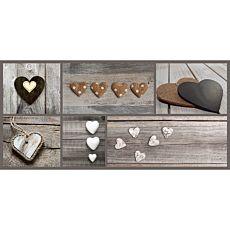 Läufer Hearts 67x150 cm