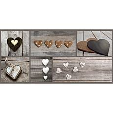 Passage Hearts, 67x150 cm
