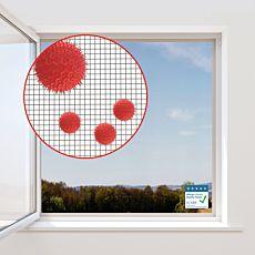 Moustiquaire avec protection anti-pollen, 150x130 cm