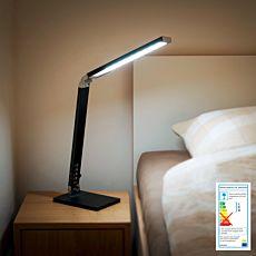 Lampe de table à lumière naturelle.