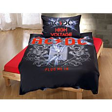 Parure de lit AC/DC HIGH VOLTAGE