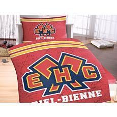 Bettwäsche EHC Biel-Bienne, mit grossem Logo