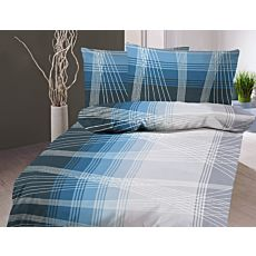 Bettwäsche mit Fadenmuster in den Farbtönen