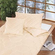 Kissen gefüllt mit reiner Schurwolle