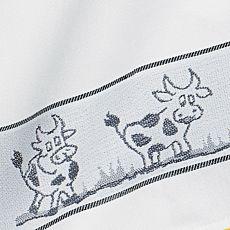 Geschirrtuch mit Kuh-Motiv
