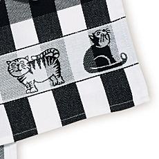 Küchentuch mit Katzen-Motiv