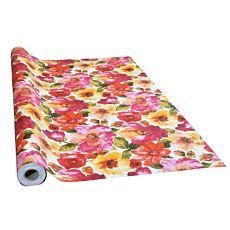 Tischdecke mit farbenfrohem Blumenmotiv