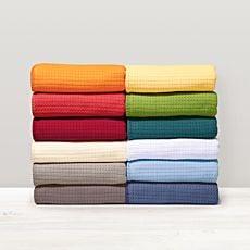 Couverture d'été légère en coton