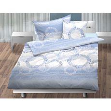 Bettwäsche mit gepunkteten Kreisen in bunten Farben