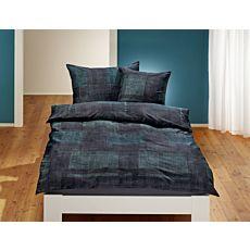 Linge de lit à motif moderne de carreaux