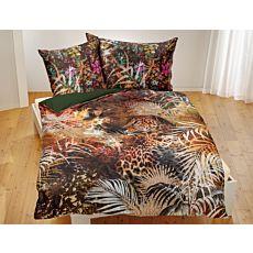 Linge de lit avec imprimé léopard aux superbes coloris