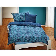 Linge de lit à losanges modernes