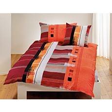 Linge de lit à motifs rayé et painting