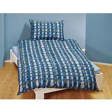 Linge de lit avec motif d'ellipses